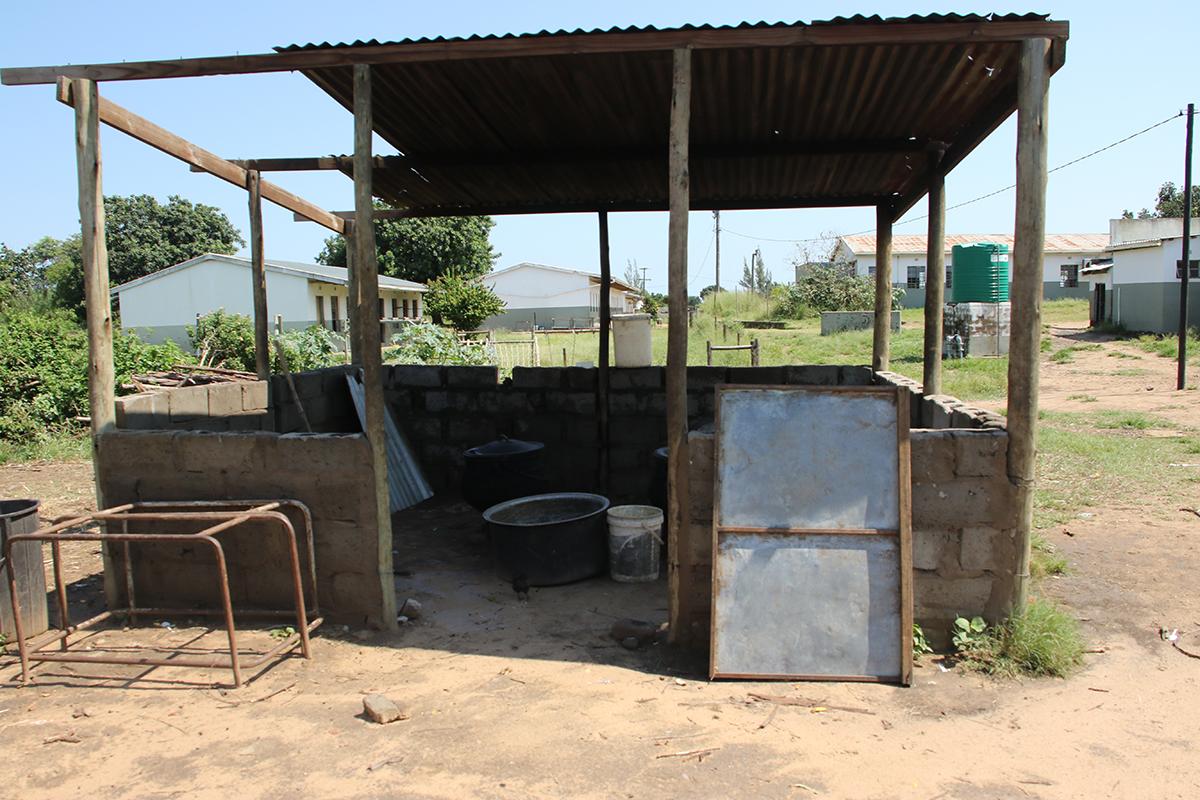 Original Kitchen at South Africa School