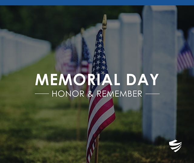 Today we take time to remember what this long weekend is really about. Thank you to all of those men and women that have given their lives for our country! ⠀ #MemorialDay 🇺🇸