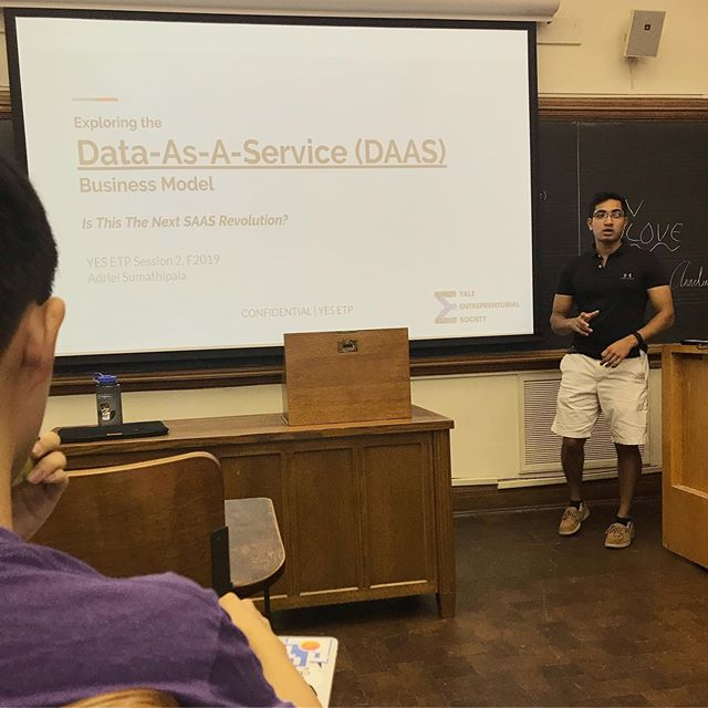 Amazing meeting today covering the DAAS business model!