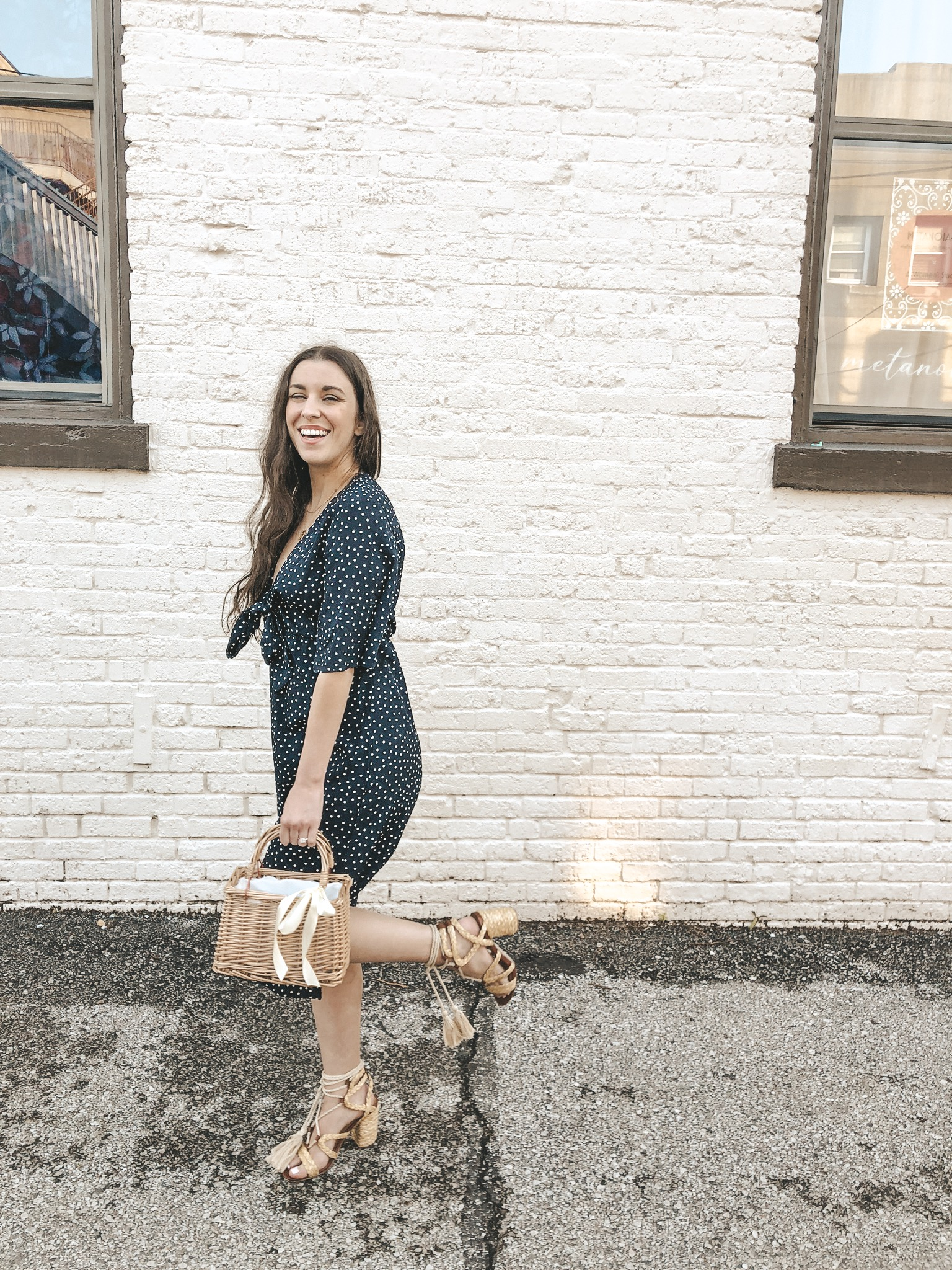 Amazon-Fashion-Spring-Dress-Haul-Blue-Midi