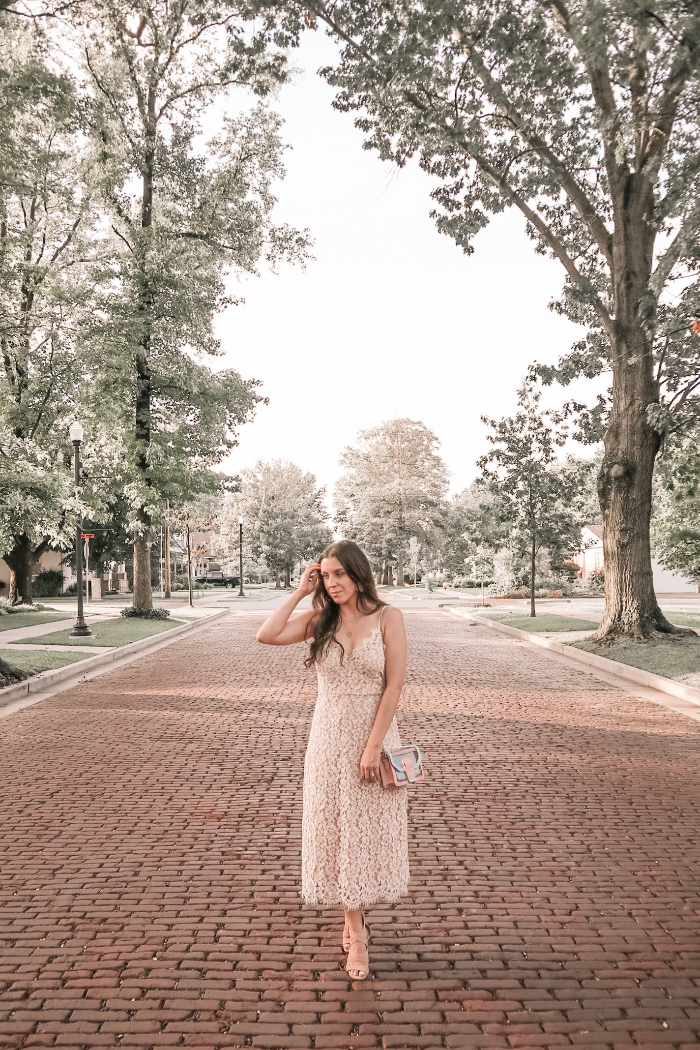 Lace Midi Dress for the Classic Bride