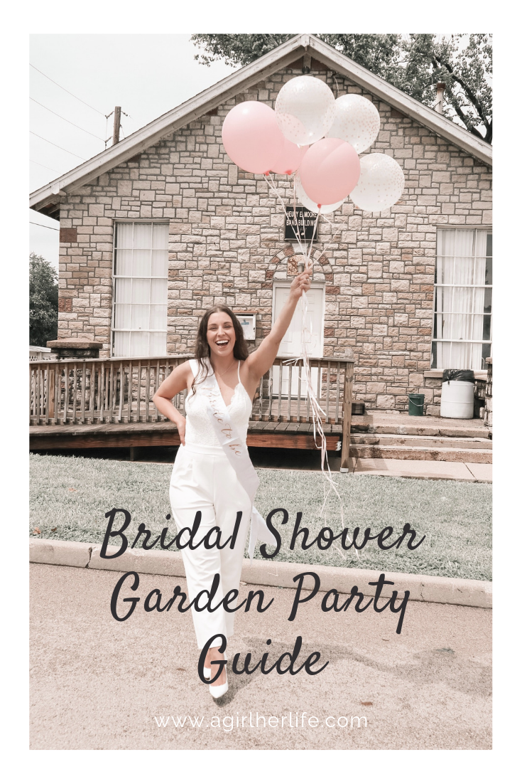 Bridal Shower Garden Party Guide