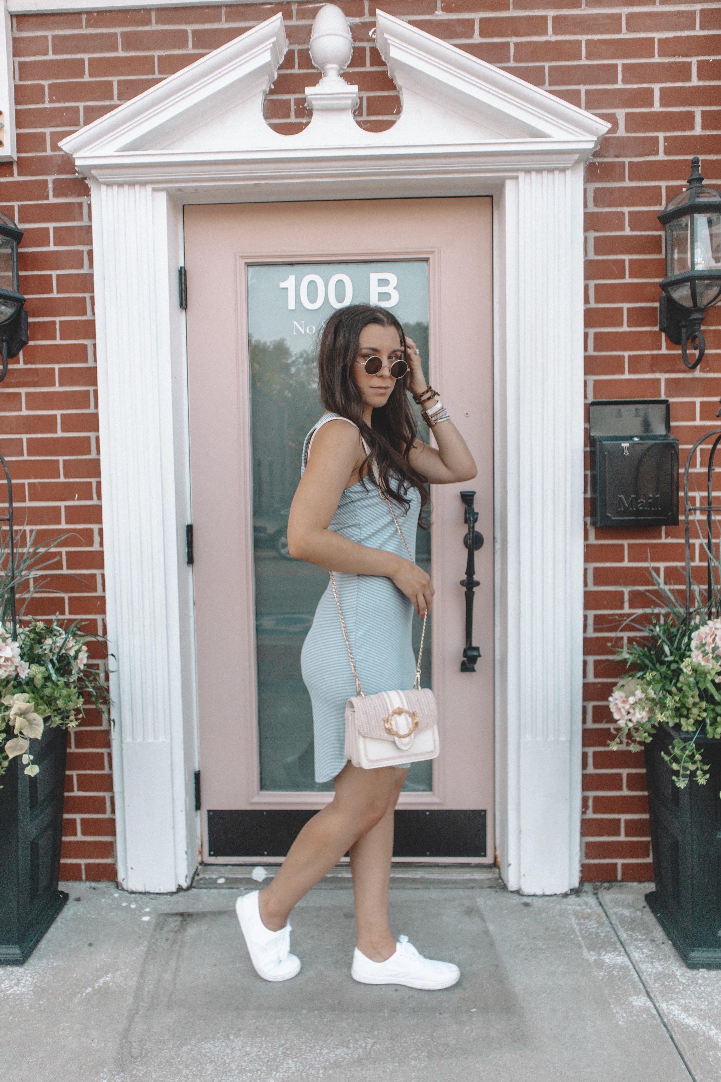 Light Blue Summer Dress