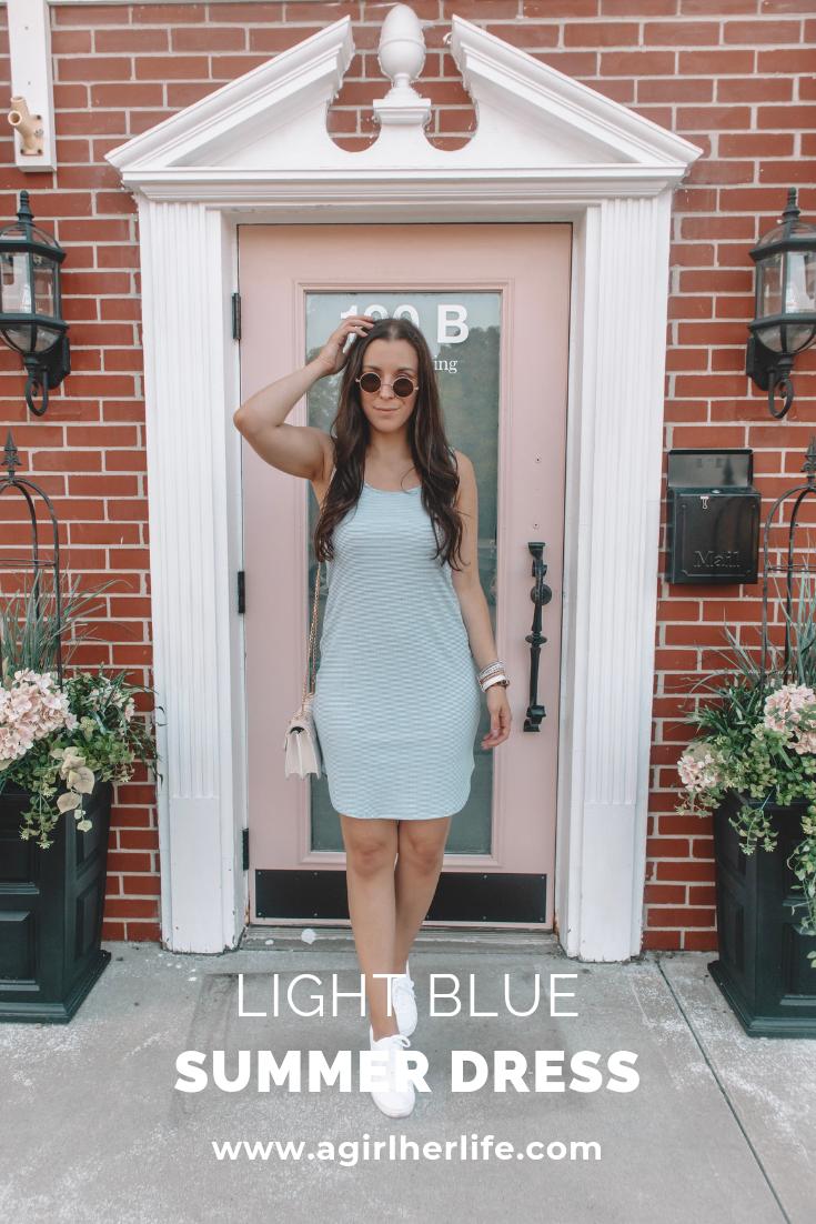 Light Blue Summer Dress Style