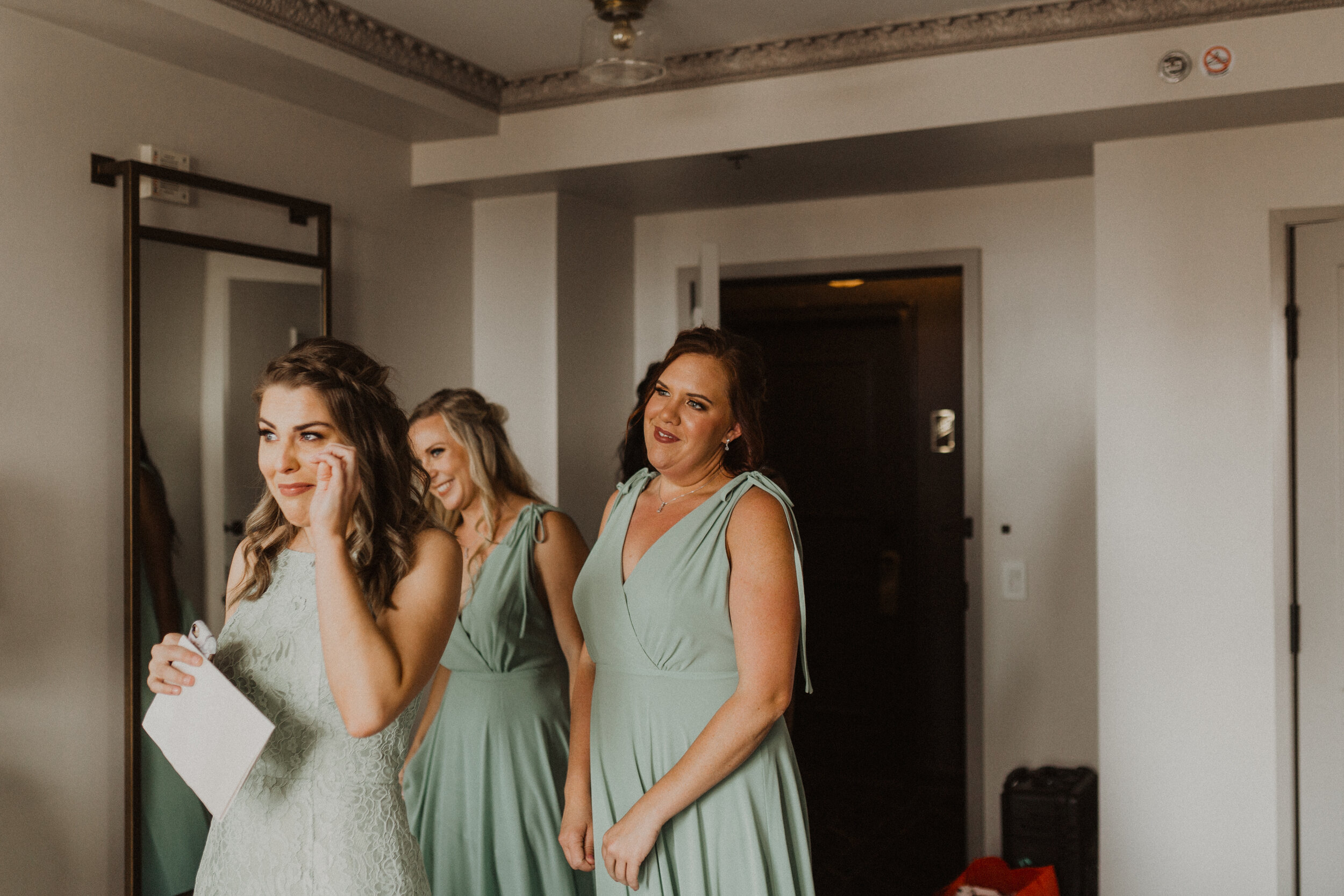 Must Capture Moments On Your Wedding Day | 2. Your Bridesmaids Seeing Your In Your Dress