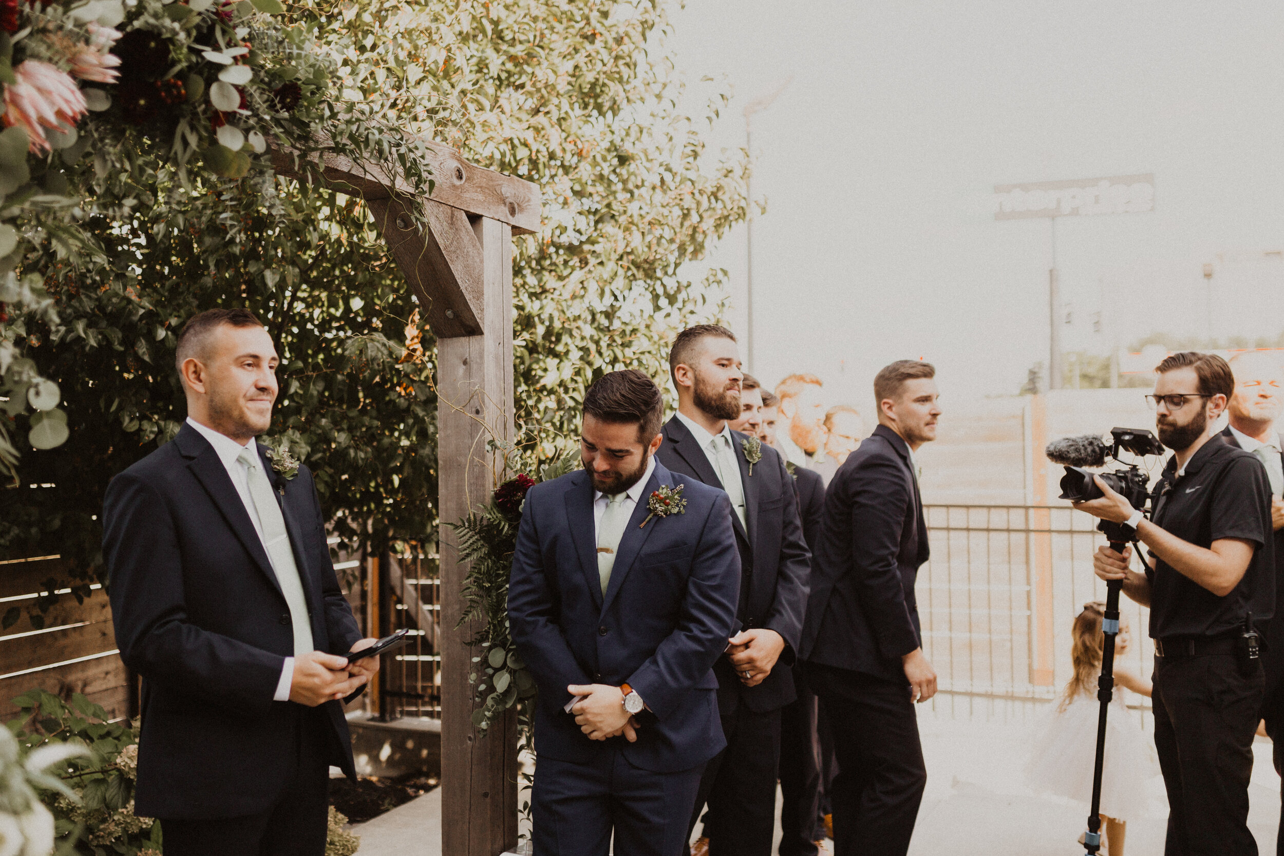 Must Capture Moments On Your Wedding Day | 3. Seeing One Another Down the Aisle