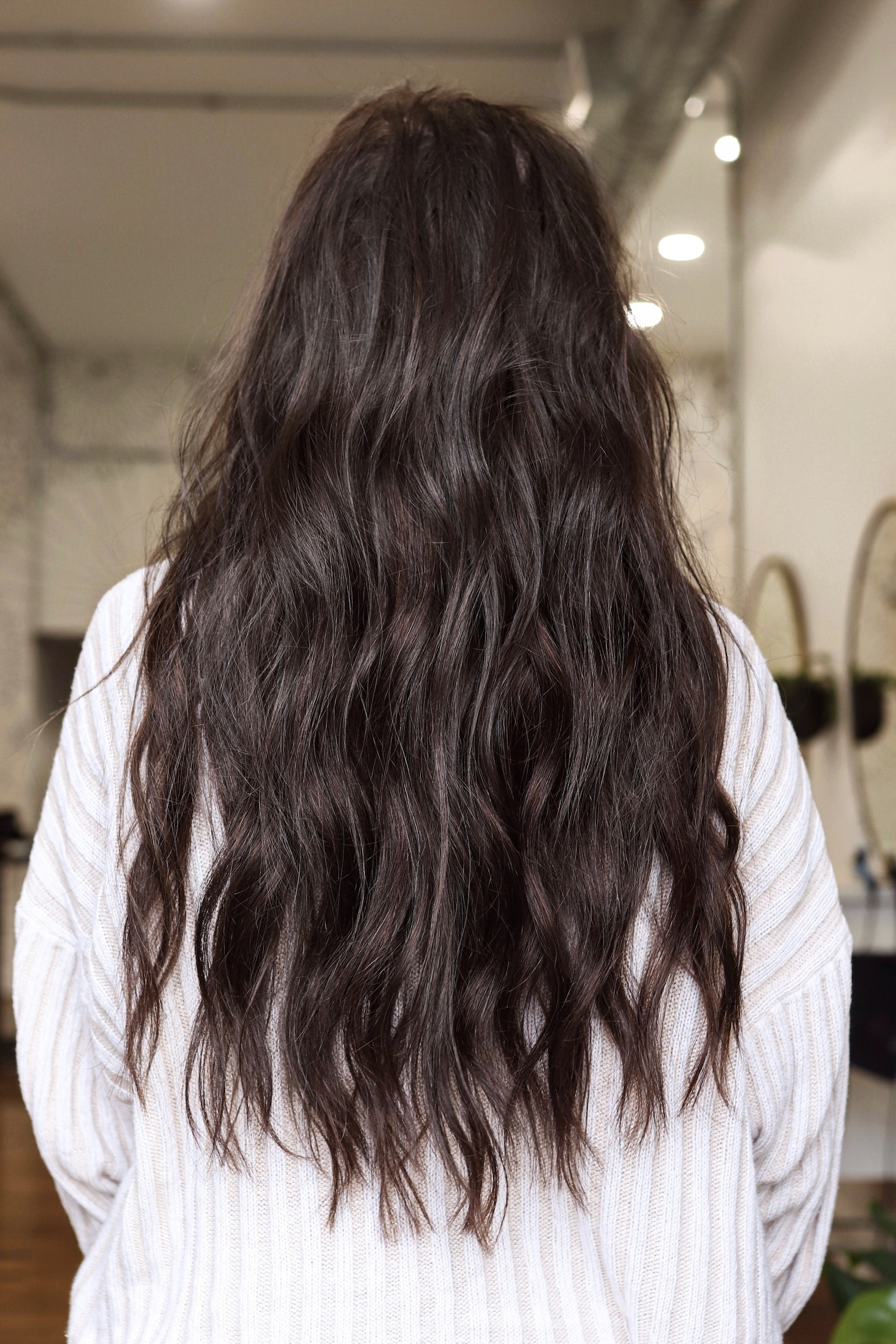 My Natural Beaded Weft Extension Experience | After Picture