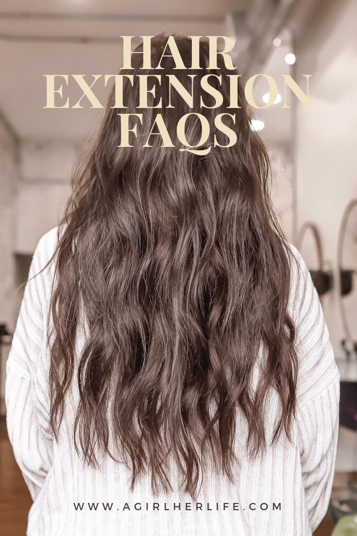 Hair Extension FAQs