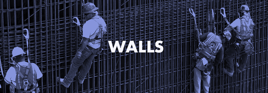 ARCHITECTURAL WALLS, STRUCTURAL WALLS, RETAINING WALLS