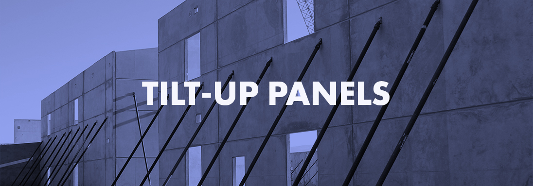 ARCHITECTURAL FINISH TILT-UP PANELS, INSULATED TILT-UP PANELS