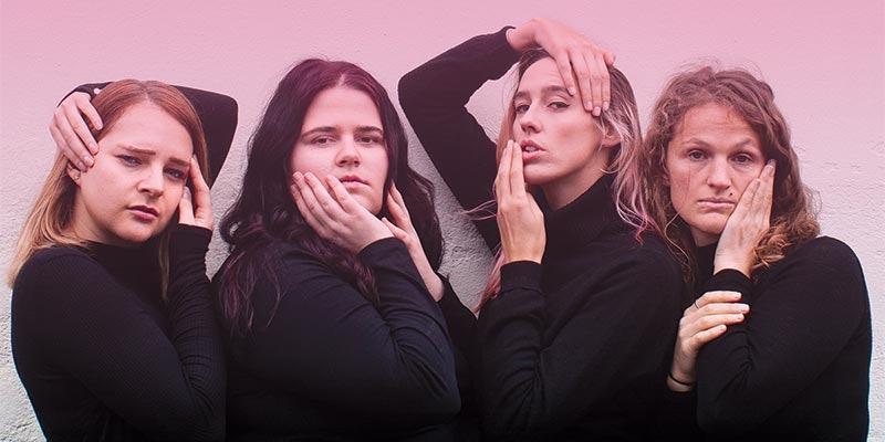 Talia Carlisle, Emma Maguire, Sara Cowdell, and Elizabeth Connor.