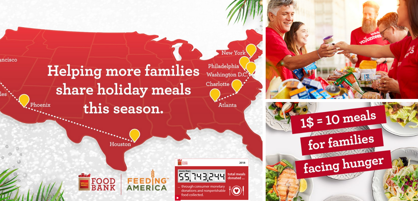 Wells Fargo x Feeding America Food Bank
