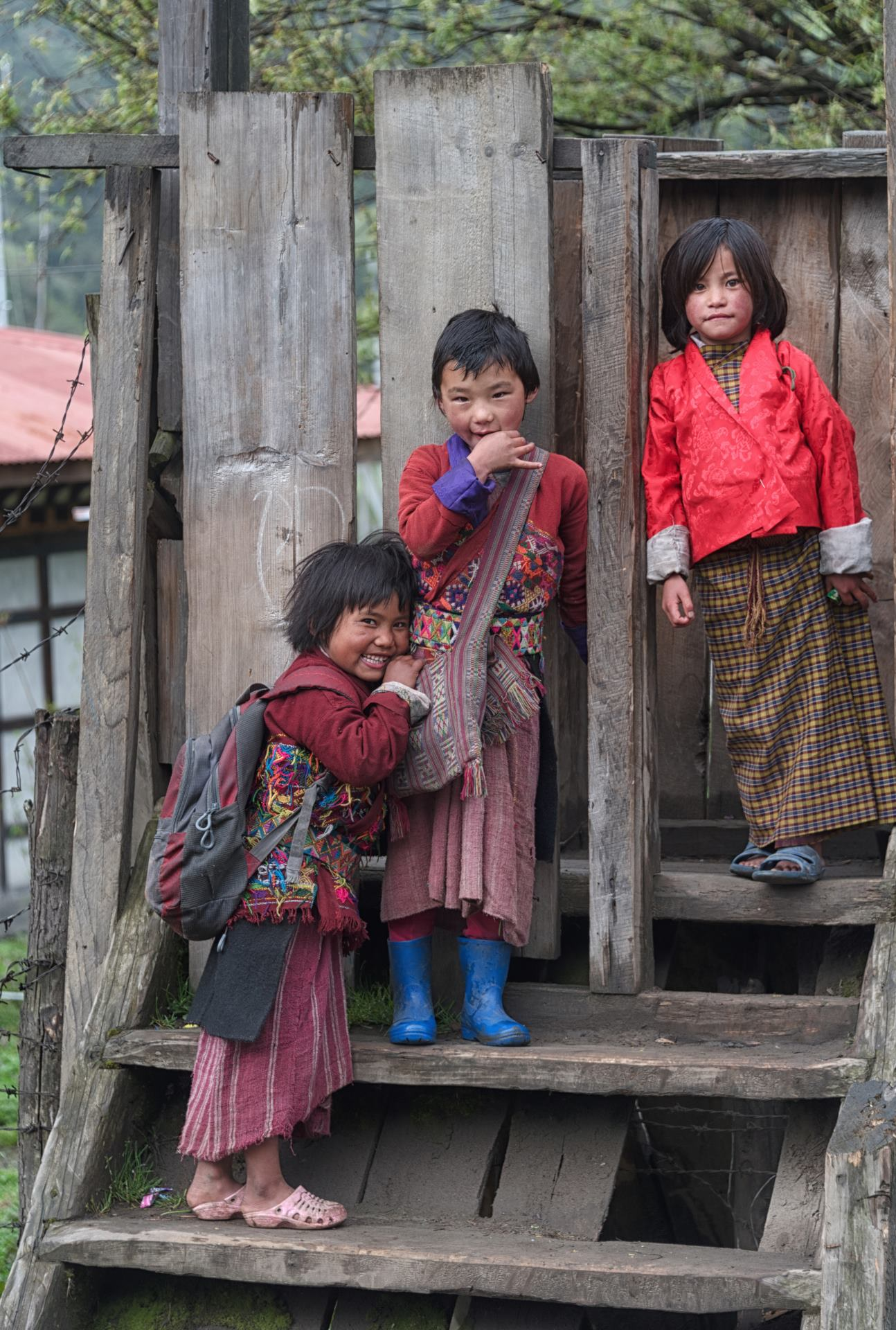 School students in Merak
