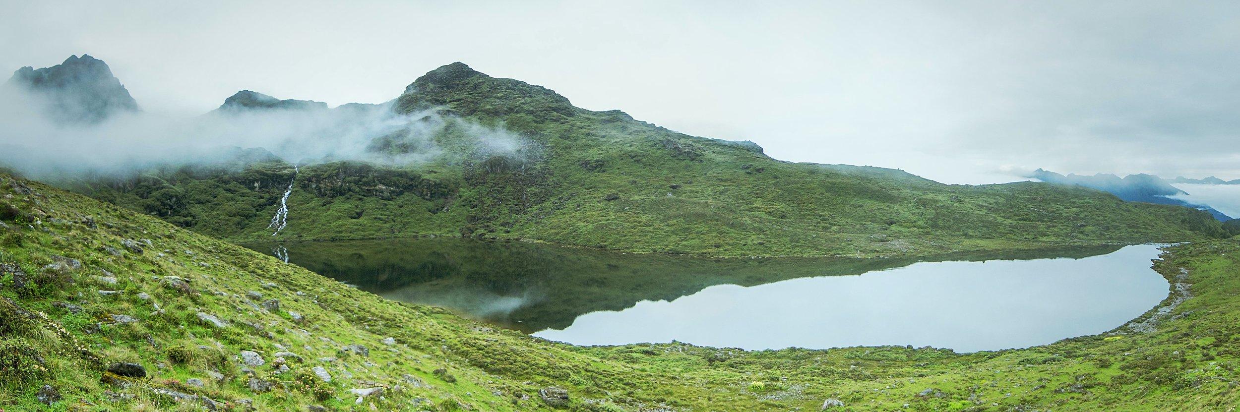 The sacred Nub Tsho Na Pata Lake.