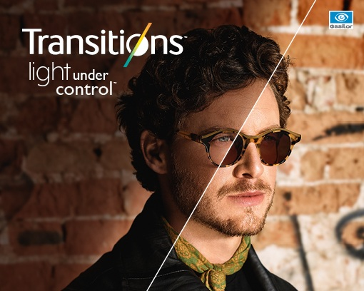 Transition Lenses. - Lenses that go dark without you having to even think about it, or remember to pack two pairs of glasses in your suitcase! Learn more about transition lenses here.Also now available in contact lenses