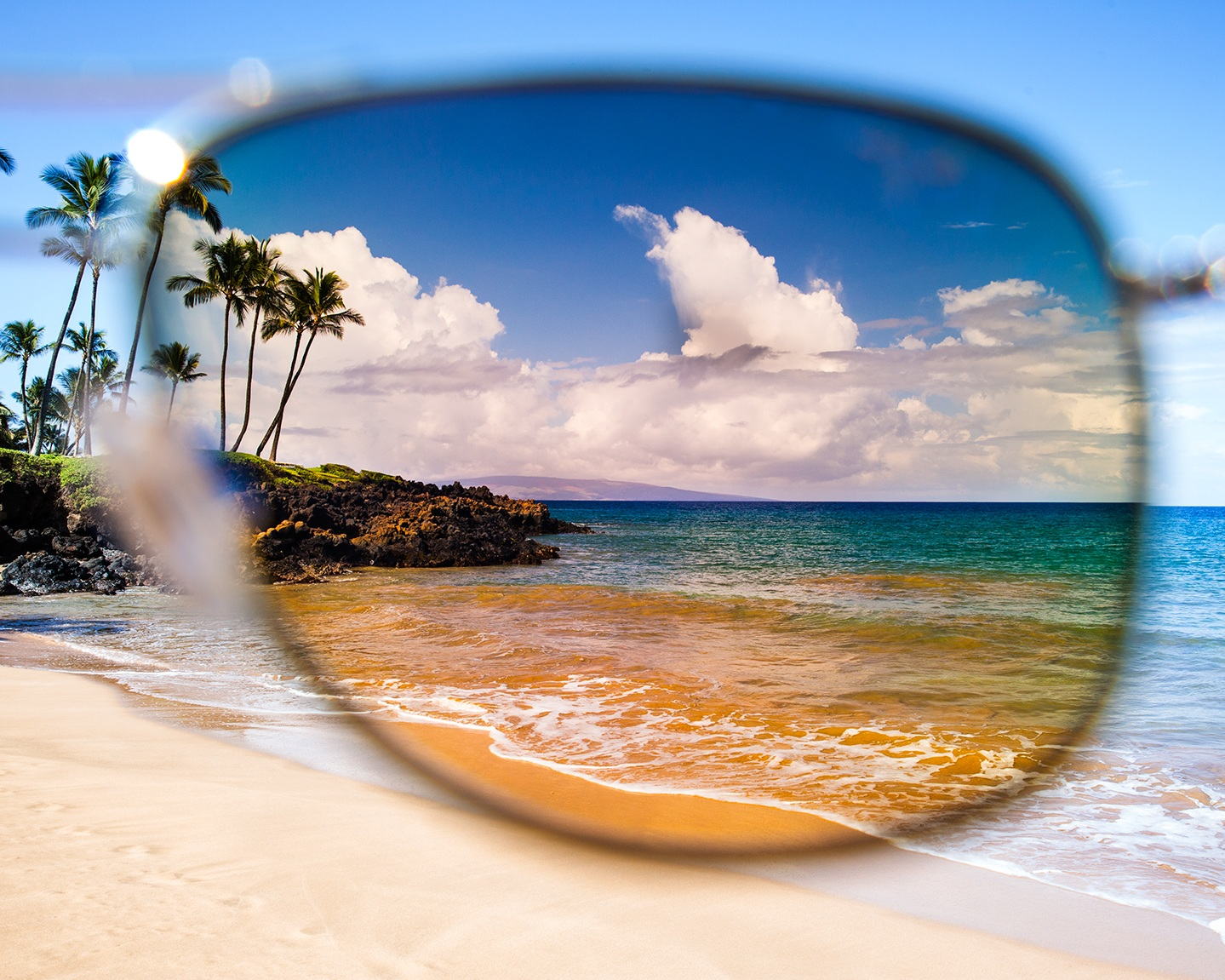 Polarisation. - Prescription lenses can be made polarised, giving you the added benefit of eliminated glare from reflected light. We also stock loads of polarised sunglasses from Maui Jim, Oakley, Ray-Ban, and Mont Blanc.