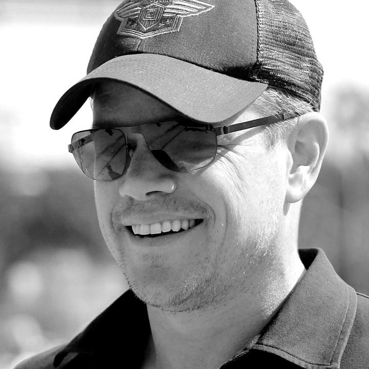 18. Matt Damon -