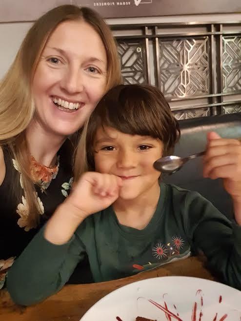 Sarah and gorgeous son Rowan