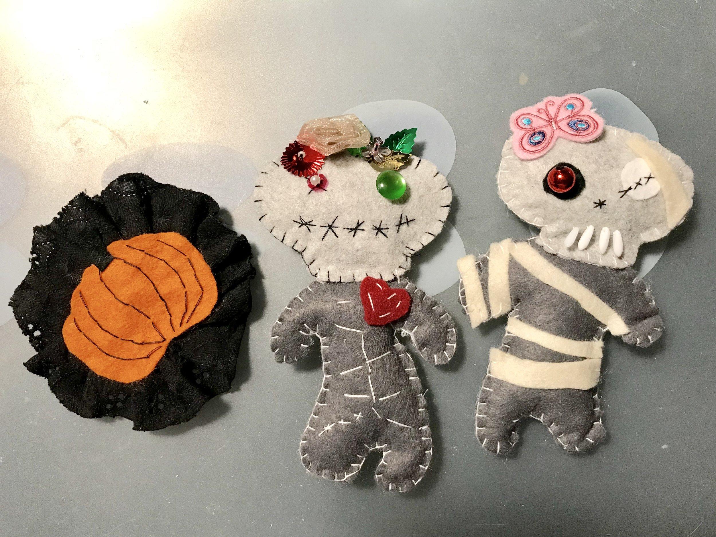 Halloween plush toys