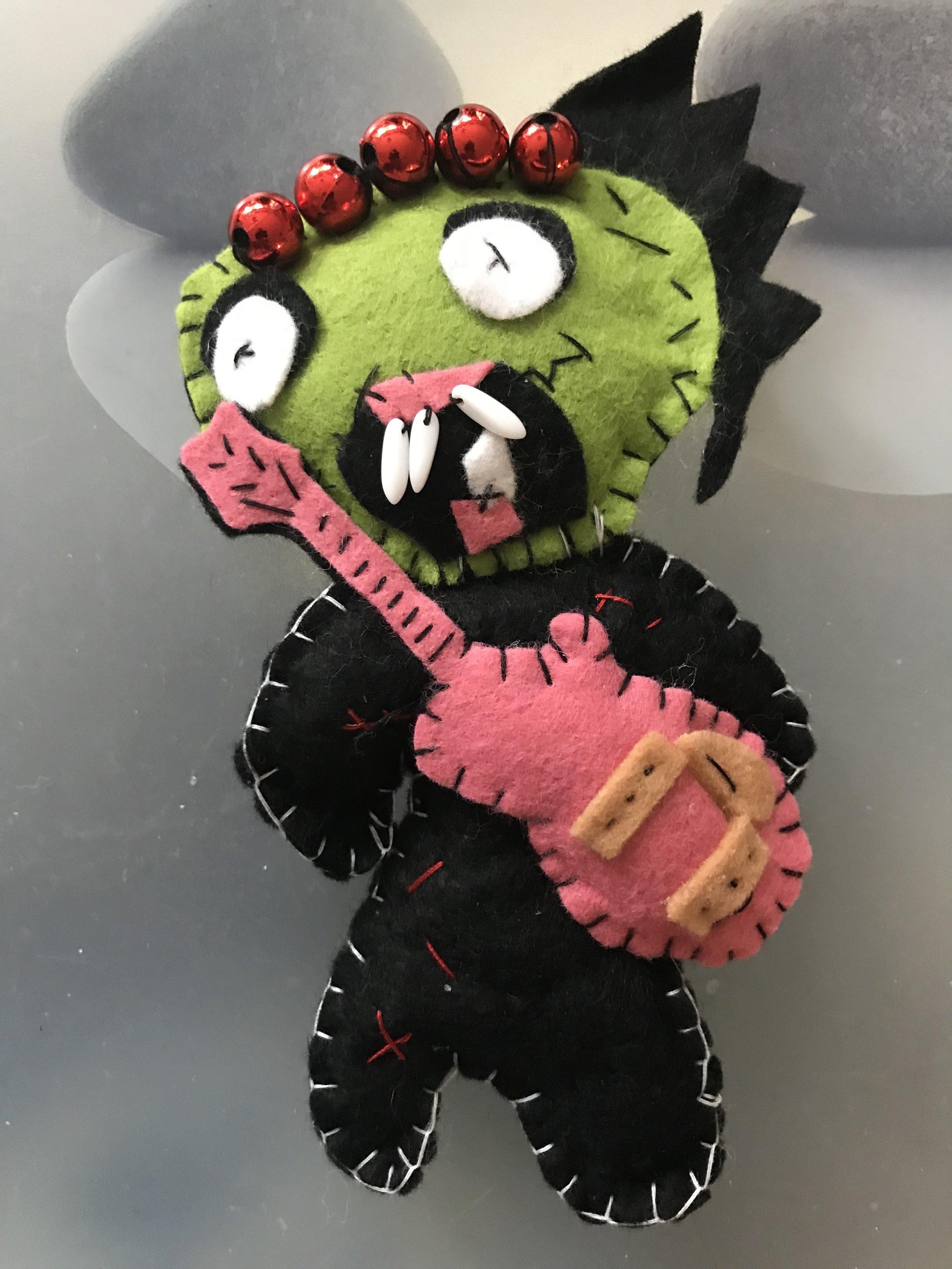 Zombie girl for Halloween