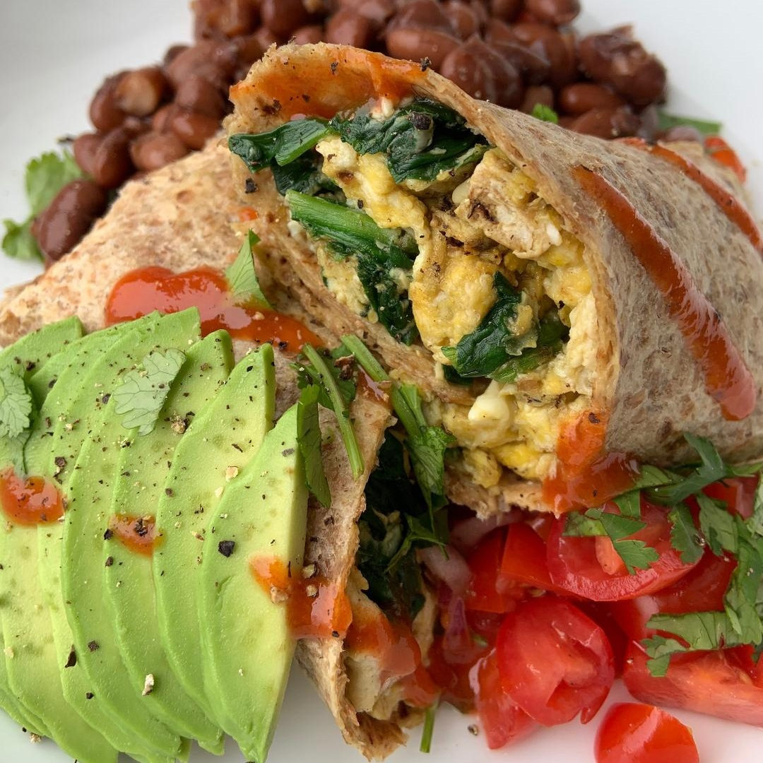 Loaded Breakfast Wrap -