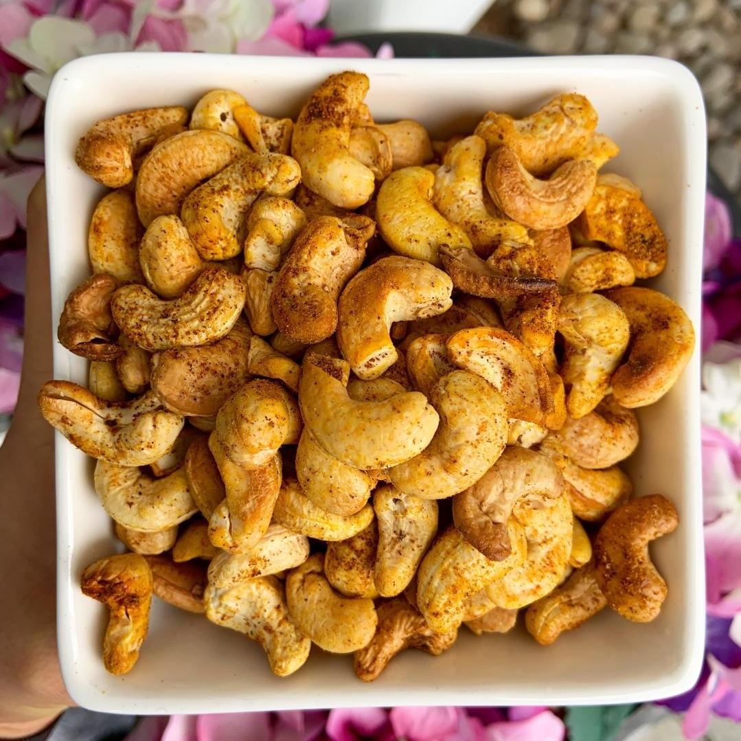 Tandoori Spiced Cashews -