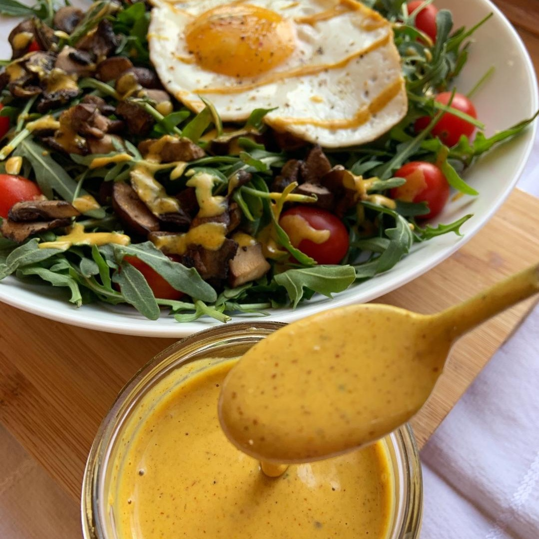 Almond Turmeric Dressing -