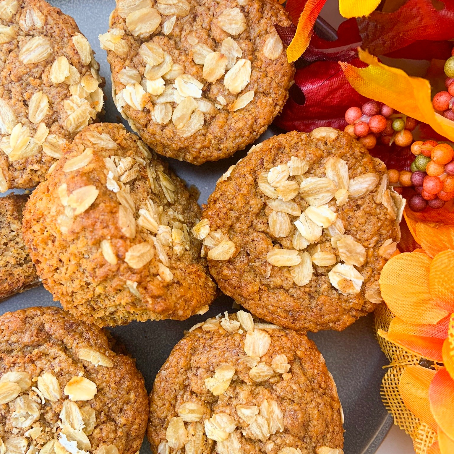 Sweet Potato Breakfast Muffins -
