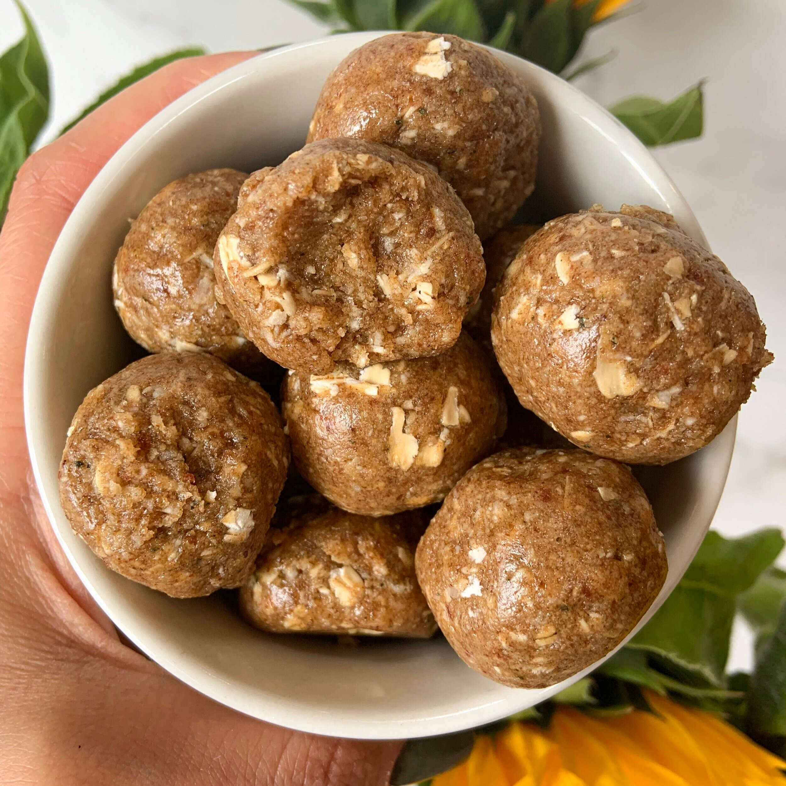 Caramel Bliss Balls -