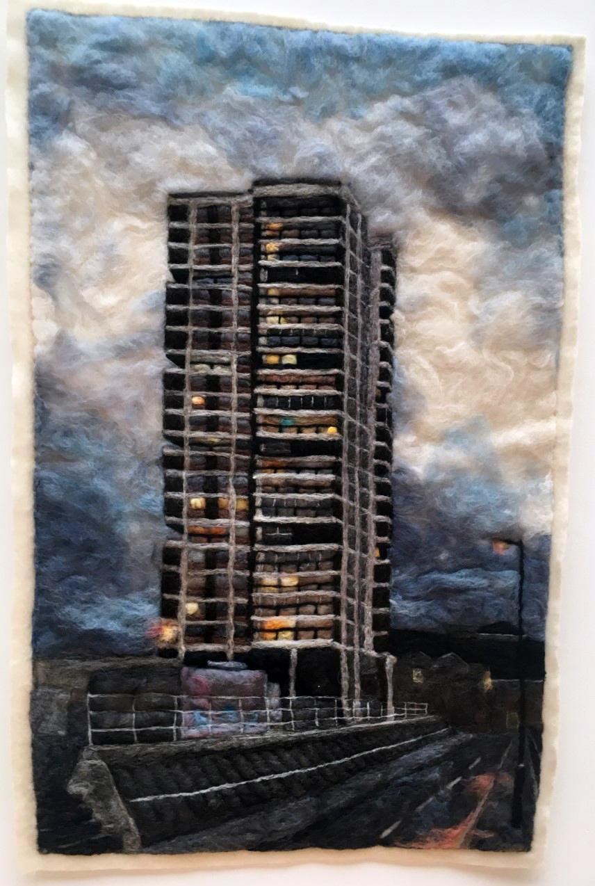 Harriet Mena Hill, 'Soft Concrete: Wendover Aylesbury Estate' (2019)