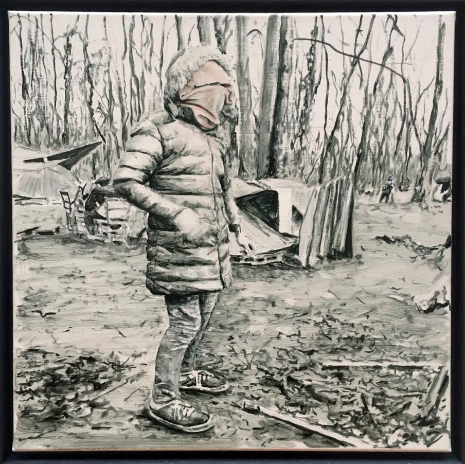 Marguerite Horner, 'Primark Coat' (2017)
