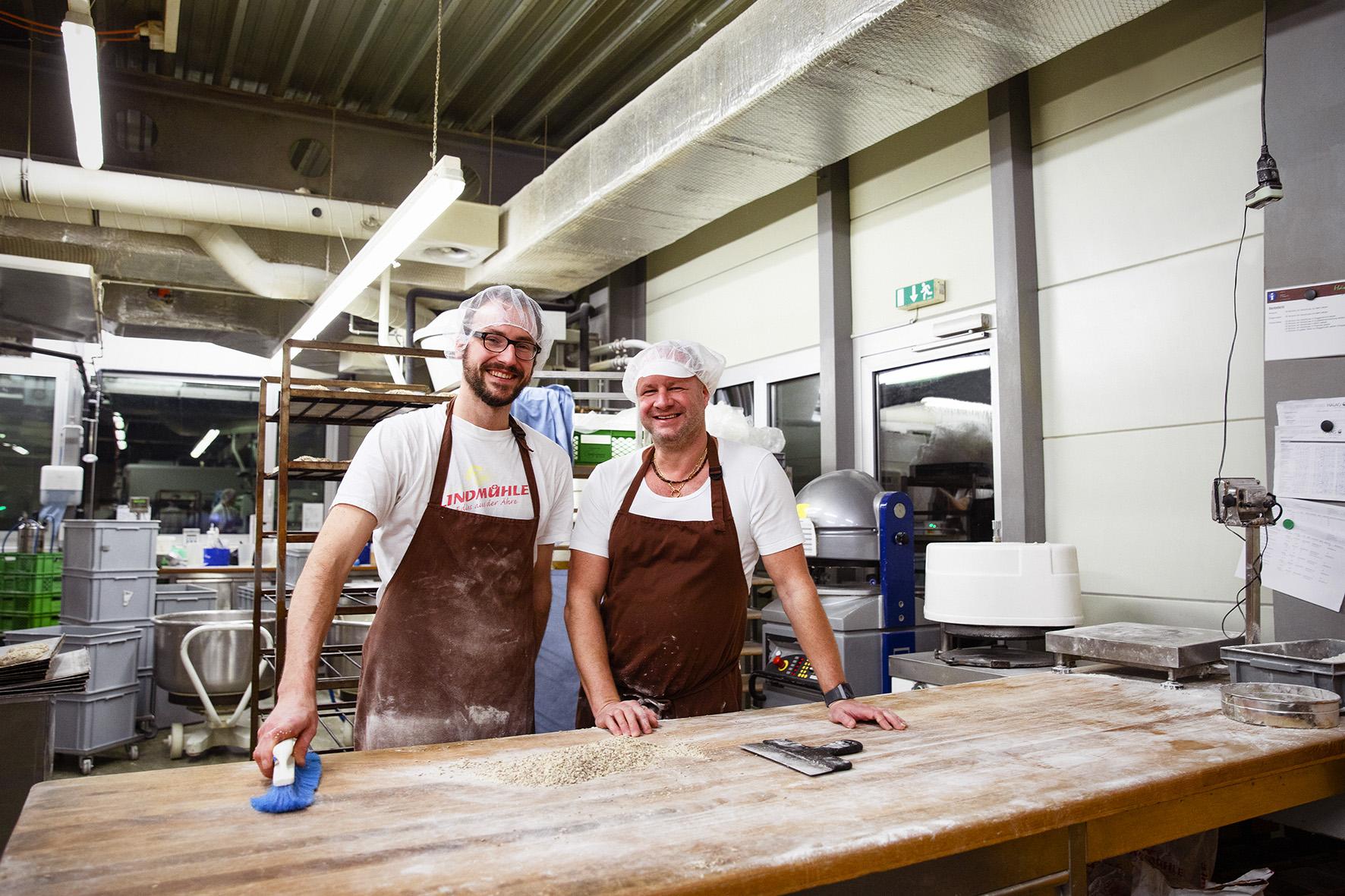 Der frühe Vogel fängt den Teig - Zu Besuch in der Produktion der Bäckerei Hänggi