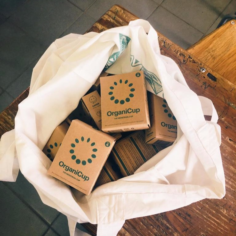 OrganiCup menstrual cups. Photo: Louise Johansson
