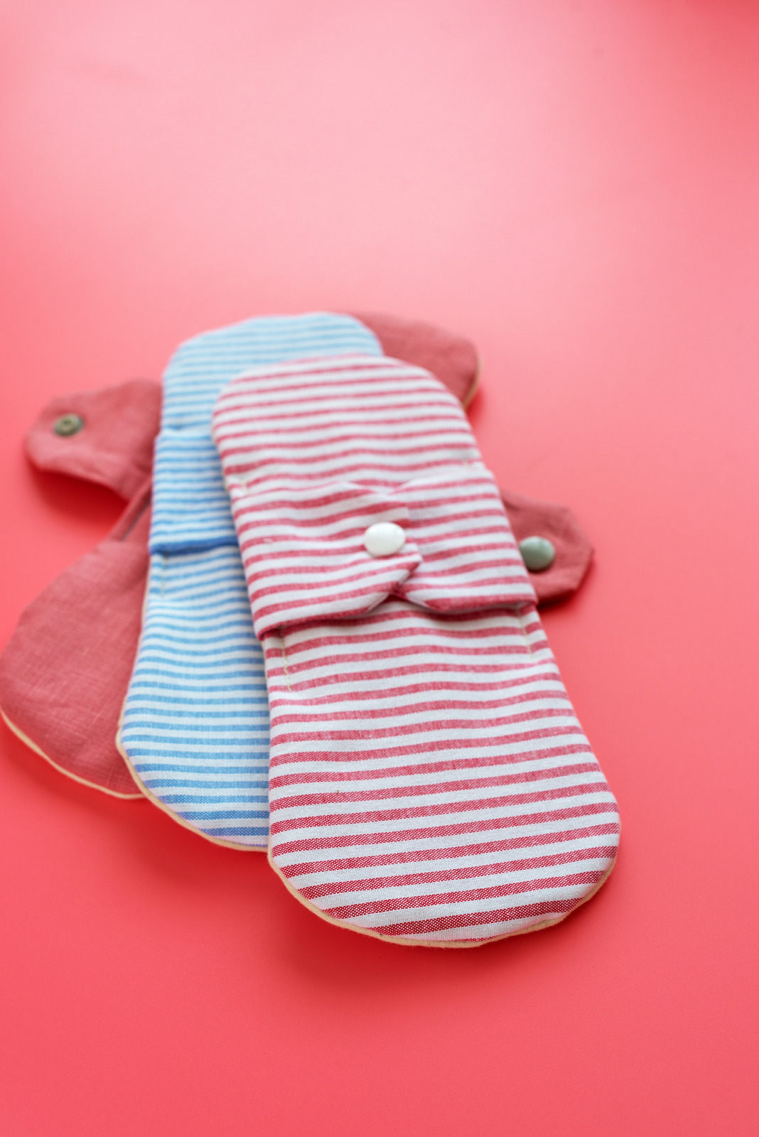 Washable pads. Photo: Canva