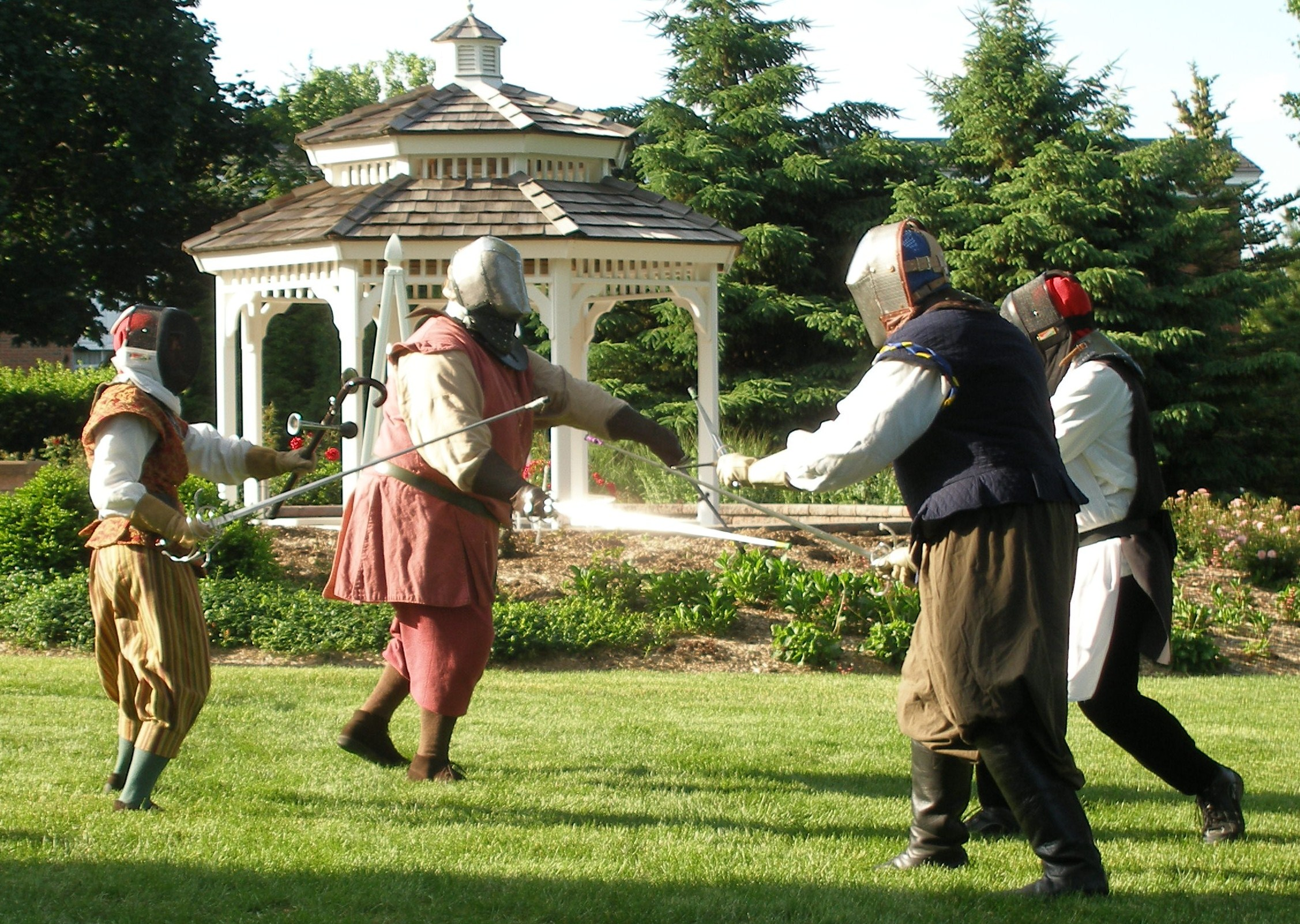 Outdoor Demonstration, 2015