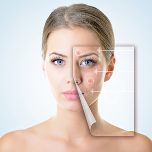 Reviderm Gesichtsbehandlung