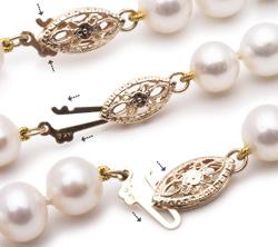 fermeture collier de perles