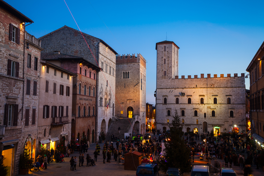 Todi is a gem in the Umbrian landscape.