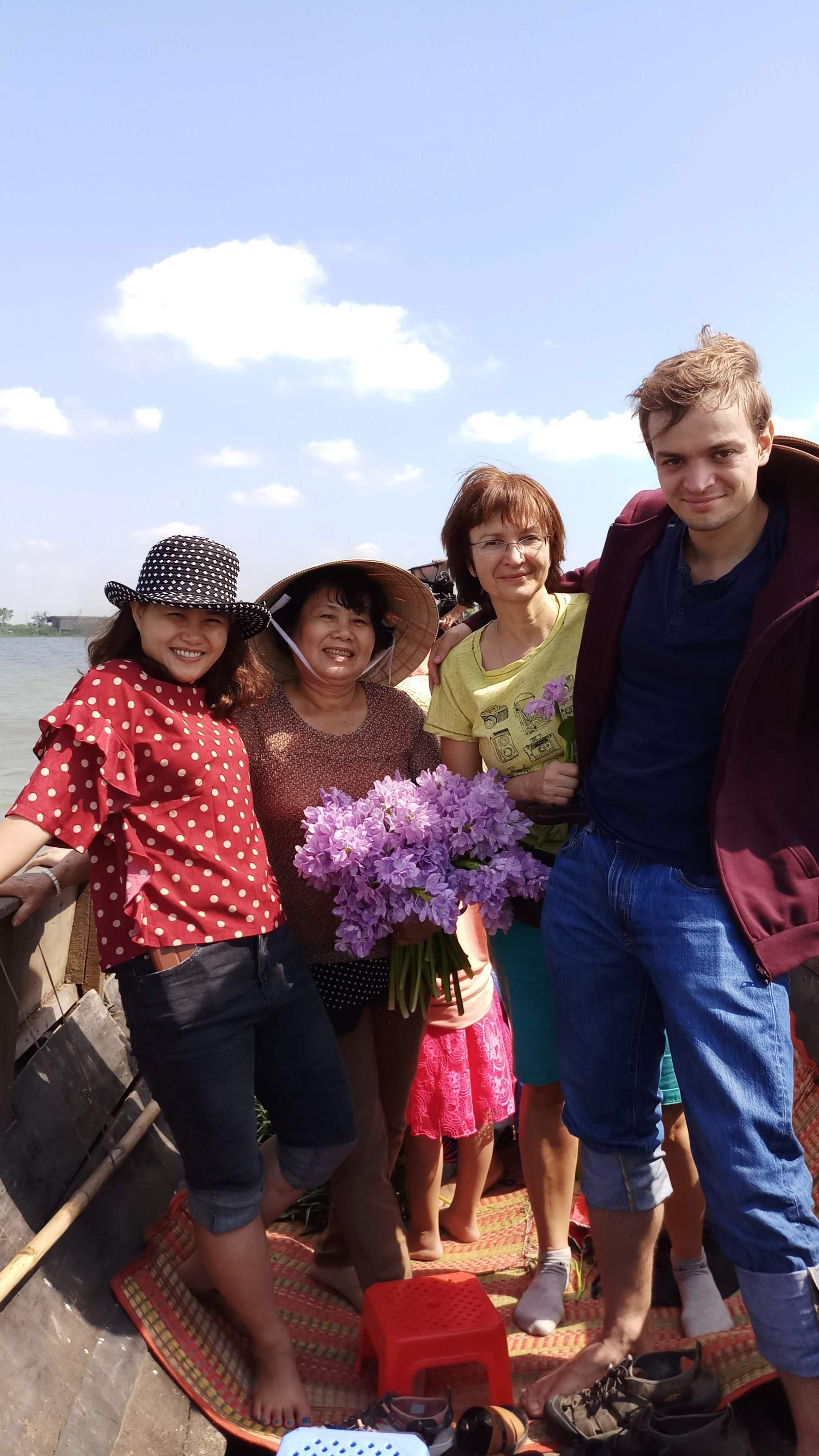 Family on Mekong