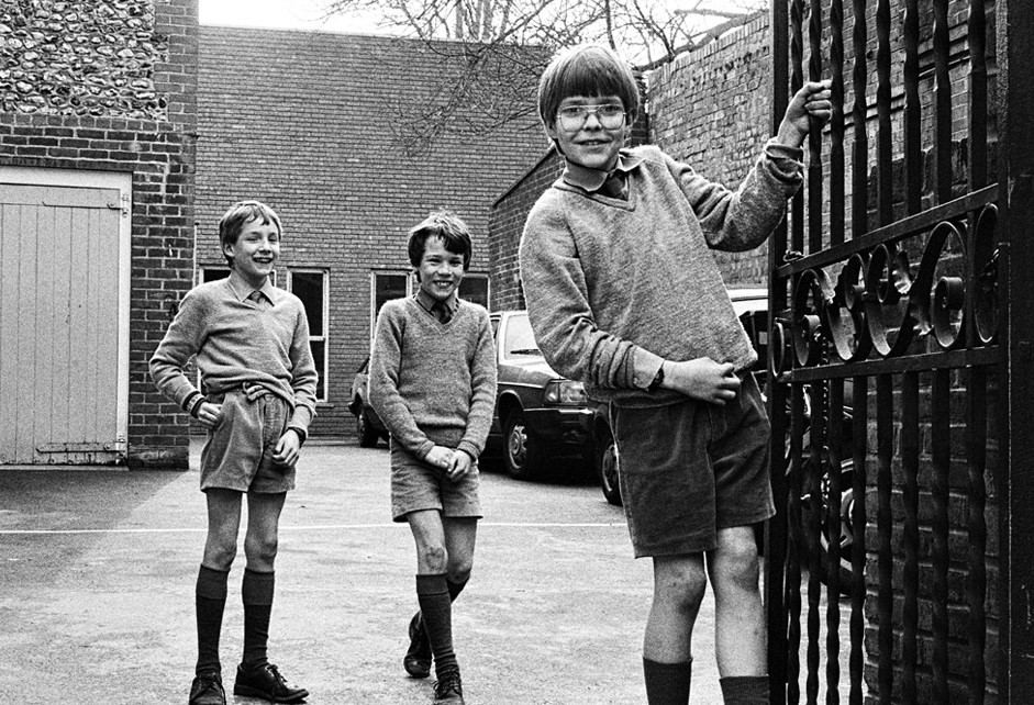 Week 07 - Three English Schoolboys