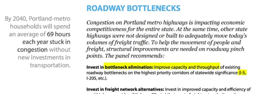 - Economic Impacts of Congestion Study, 2015