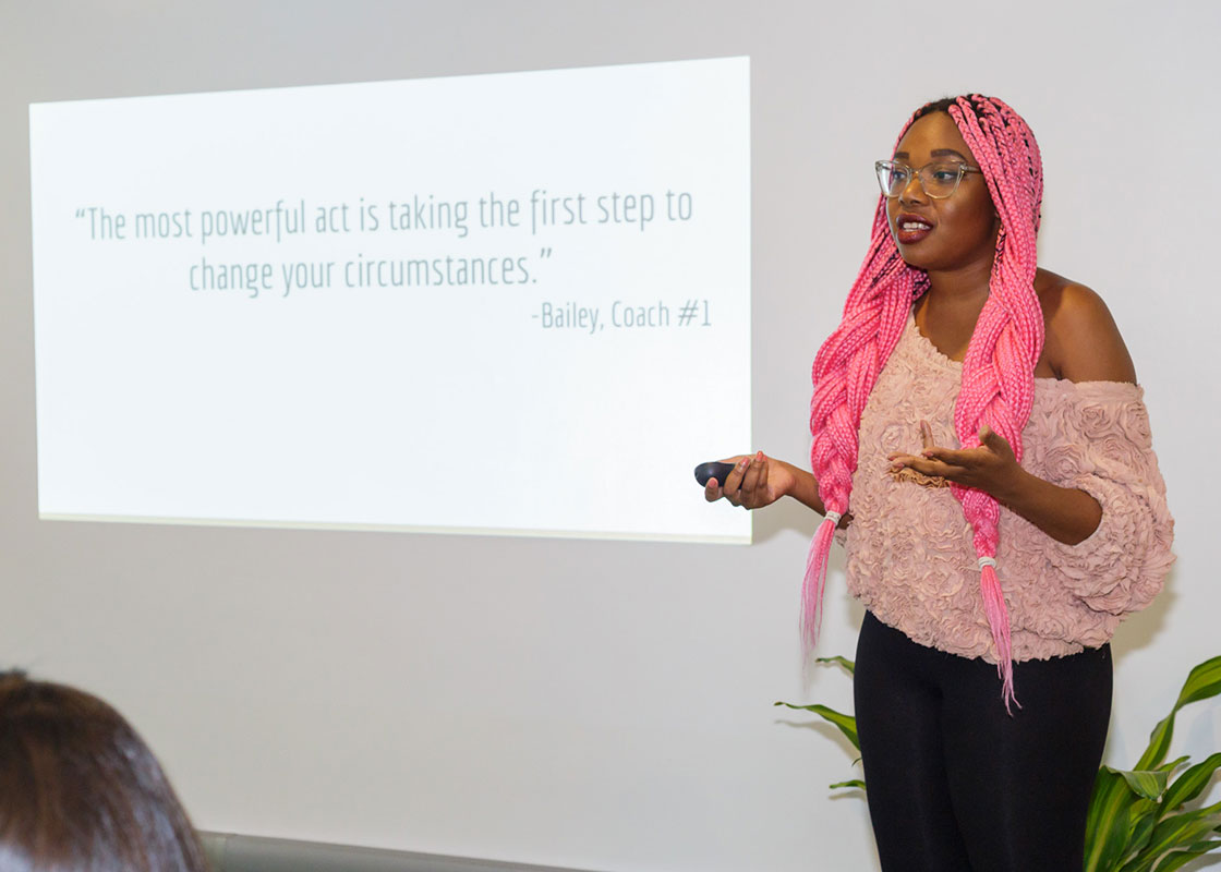 """I feel so much more confident and skilled than I did just a short month ago. I've started actively pursuing gigs."" - Dayana Cadet, Speaker Bootcamp Graduate"