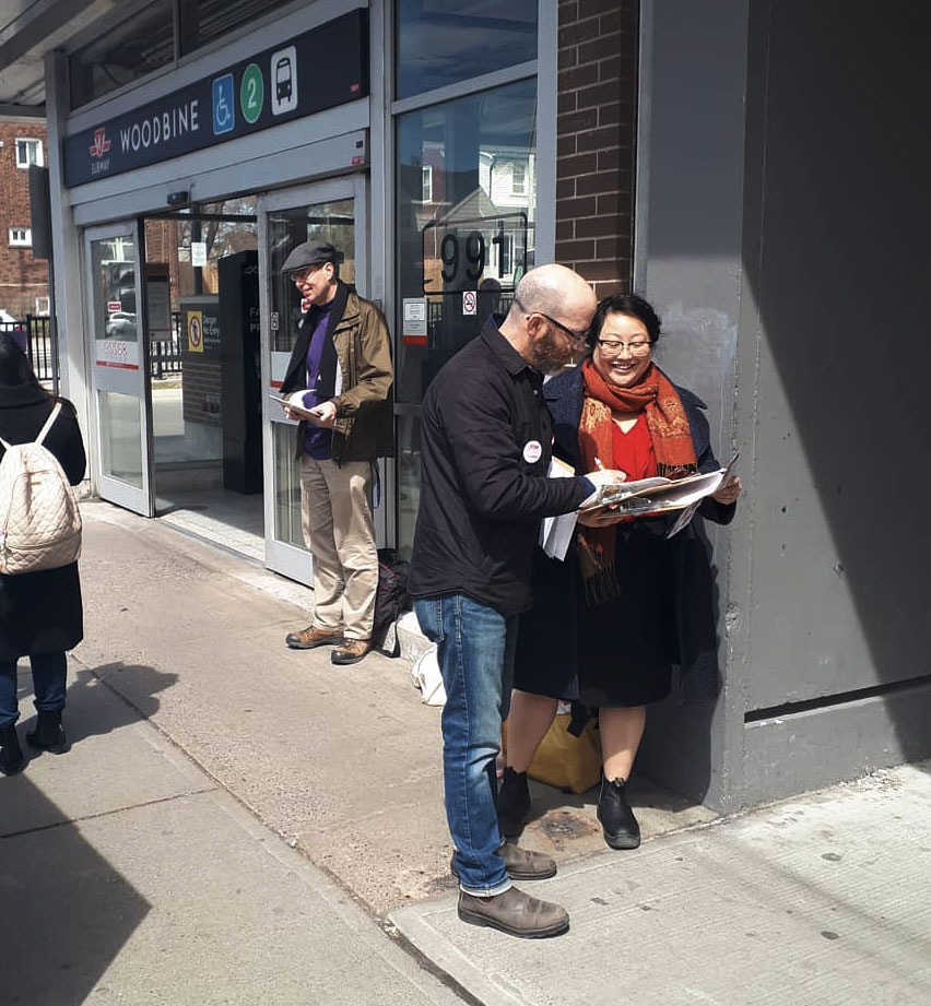 """- """"We need bold action on universal pharmacare, affordable and accessible childcare, the housing crisis, and climate change.We need to uphold the integrity of the rule of law in Canada and encourage stronger democratic participation.We need economic, social, and environmental justice for all.""""— Mae J. Nam"""