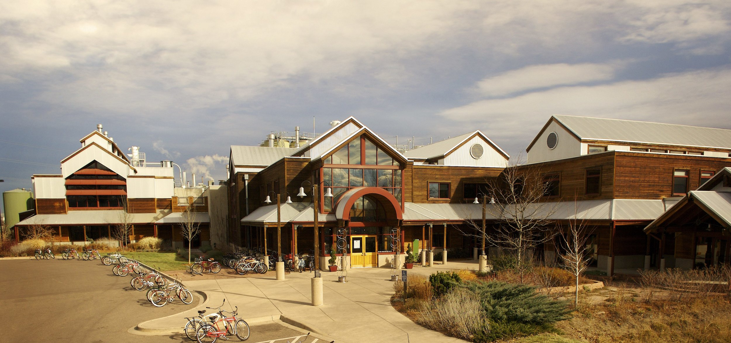 Tell me you wouldn't want to work there… This is New Belgium's offices in Fort Collins Colorado