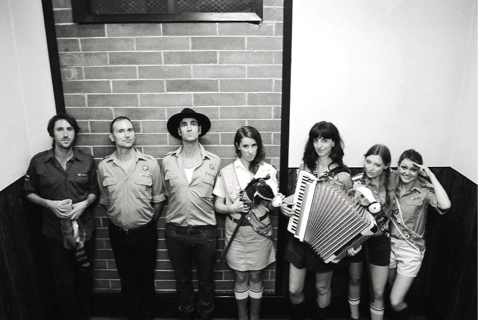 - 2013 Accordion Noir Festival. Photo by Faber Neifer for VANDOCUMENT. L to R: Gavin Youngash, Skye Brooks, Pete Schmidt, Juhli Conlinn, Barbara Adler, Emily Lyall, Shannon Scott.