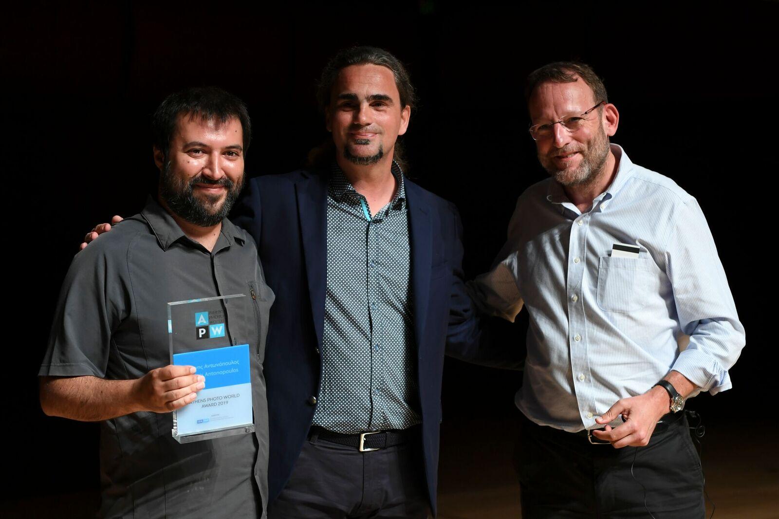 With Santiago Lyon and Thanassis Stavrakis!