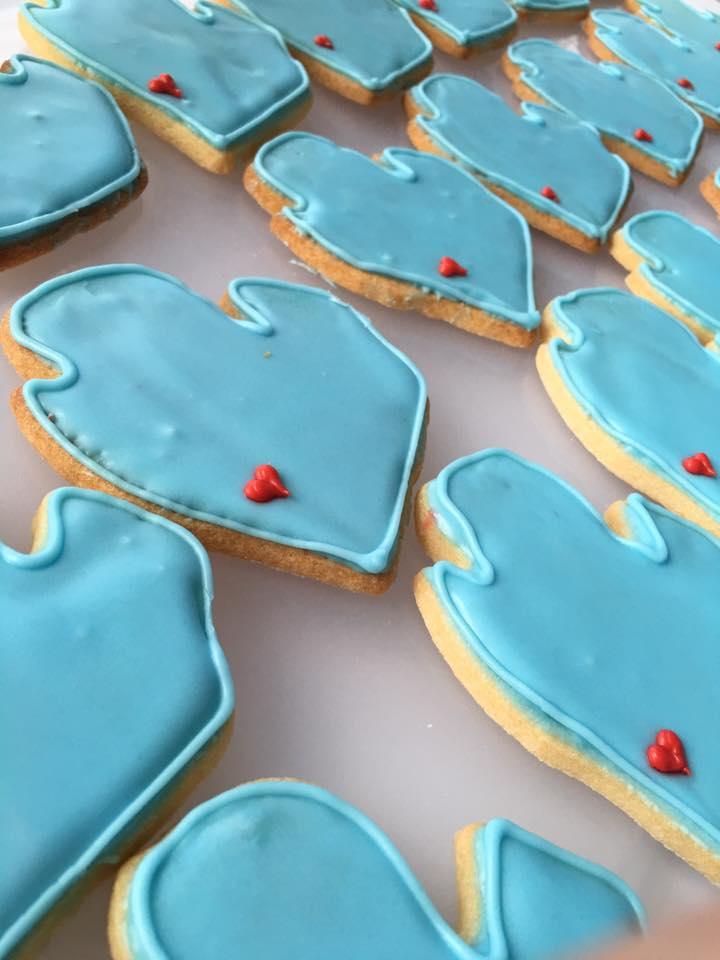 Pictured: Custom Detailed Sugar Cookies
