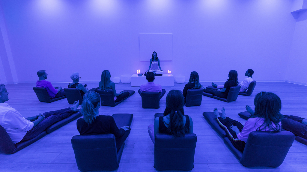 Meditation at Unplug in Santa Monica, CA
