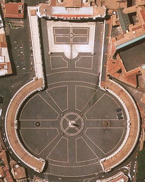 Vatican City from above
