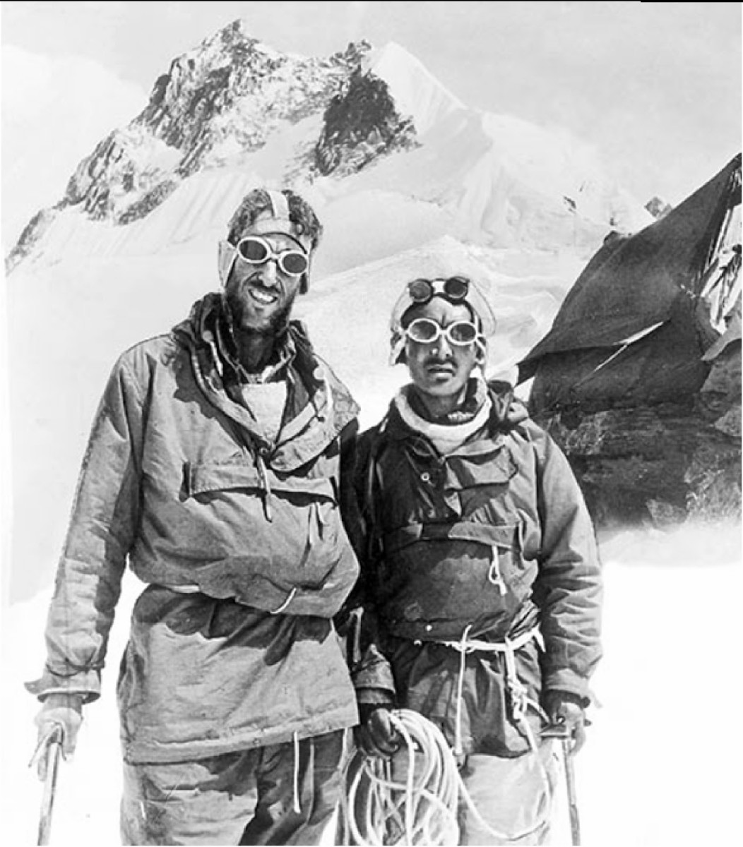 The drive to keep trying after failed attempts landed Norgay & Hillary atop the highest peak in the planet in 1953.